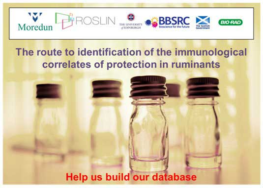 Database for ruminant immunological reagents