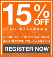 15% OFF your first purchase