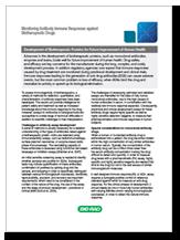 Monitoring antibody immune responses against biotherapeutic drugs