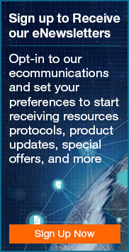 Opt-in to our ecommunications and set your preferences to start receiving resources, protocols, product updates, special offers, and more.