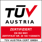 Our Facility In Puchheim Germany Has Been Certified To The Quality Management Standard ISO 90012015 By TV AUSTRIA For Development Characterization