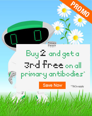 Buy 2 and Get a 3rd Free on All Primary Antibodies*