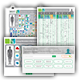 Interactive human immune cell marker database, guide and posters