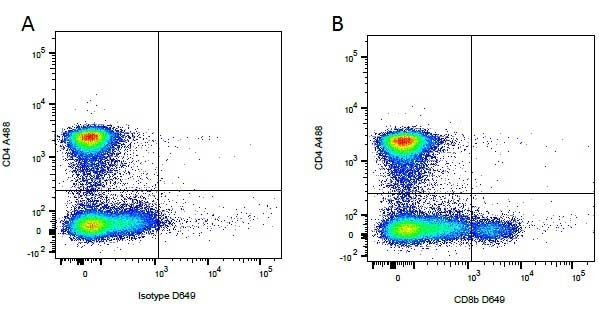 CD8 Beta Antibody | CA15.4G2 gallery image 1