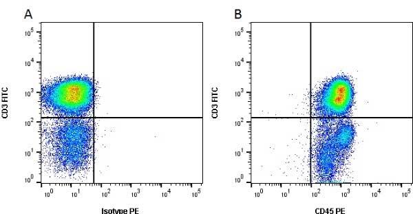 CD45 Antibody   K252.1E4 gallery image 12